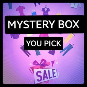 ✨YOU PICK✨ MYSTERY BOX BUNDLE 💕6 items for 40$💕